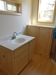 Knotty Pine Vanity Cabinet Architectural Wood Designs Knotty Pine Cabinets