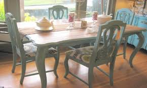 Painted Kitchen Tables by Paint A Kitchen Table Chalk Paint Dining Room Table Chalk Paint