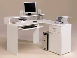 Modern Led Desk L White L Shaped Desk Home Office Home Design Ideas And Pictures