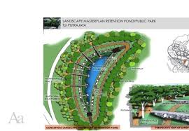 Retention Pond In Backyard Retention Pond Putrajaya Malaysia Sustainable Design