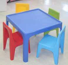 Plastic Tables And Chairs Home Design Amazing Plastic Childs Table Good Looking Garden And