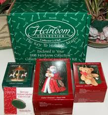 carlton ornaments heirloom collection set for sale