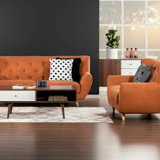 those chairs our new u0027juniper u0027 sofa chairs in orange both for