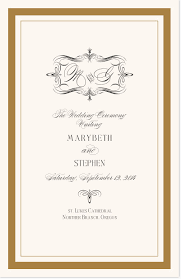 sle of wedding programs ceremony wedding program cover 28 images ailin s russian weddings are a