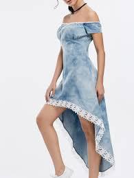 denim dresses cheap womens denim dresses casual style online