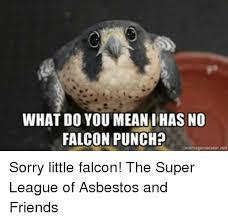 Falcon Punch Meme - what do you mean i has no falcon punch memegenerator net sorry