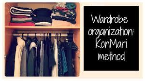 wardrobe tour organization konmari method minimalist wardrobe