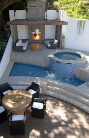 Best Hot Tub Ideas Jacuzzi And Spa Images On Pinterest - Modern backyard designs