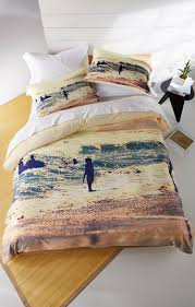 Surfing Bedding Sets Sunset Surfer Bedding Bedding Hawaiian Decor Pinterest