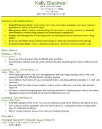 how to write a resume right out of college professional resumes