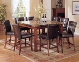 9 dining room sets marble top dining room sets foter