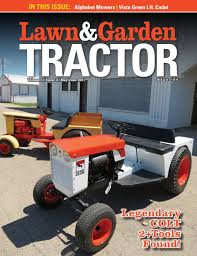 lawn and garden tractor magazine by sherman studios issuu