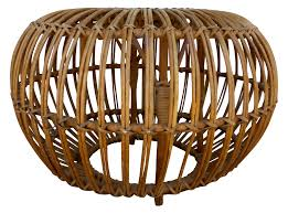 Round Living Room Chairs by Decorating Round Woven Ottoman Rattan Ottoman For Living Room