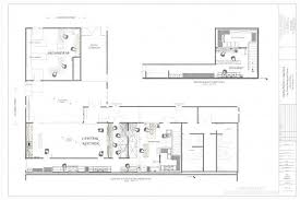 the floorplans for central kitchen and salumeria the new projects