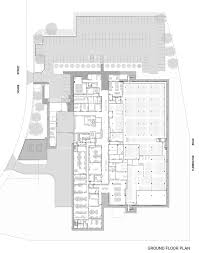 facility floor plan gallery of national archives preservation facility may russell