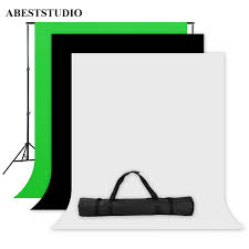 backdrop stand abeststudio photo studio screen 1 6x3m black white green backdrop