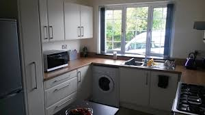 Interiors Of Kitchen Contemporary Kitchen Installation Markfield Leicstershire