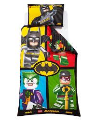 Superhero Double Duvet Set Lego Batman Card Single Duvet Cover Set Littlewoodsireland Ie