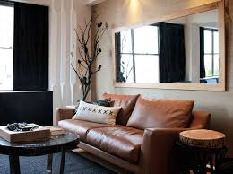 Contemporary Livingroom Furniture Ethan Allen Leather Sofa Contemporary Living Room By Darren Palmer