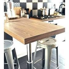 pied bar cuisine plan de travail sur pied cuisine table cuisine pied pied cuisine