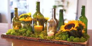 sabrina soto turns empty wine bottles into a thanksgiving