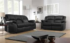 Leather Recliner Sofa 3 2 Dakota Leather Recliner Sofa Suite 3 2 Seater Black Only 899 98