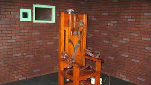 la chaise electrique aux etats unis la chaise électrique et le peloton d exécution en