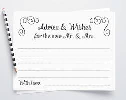wedding wishes and advice cards words of wisdom advice cards wedding advice card newlyweds