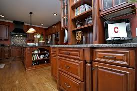 Mocha Kitchen Cabinets by Black Accent Roosevelt Mocha Kitchen Cabinets Willow Lane Cabinetry