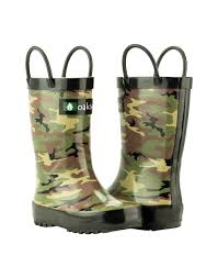 children u0027s rubber rain boots army camo oaki rain gear kids