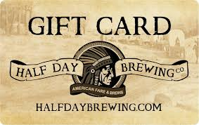 half gift cards half day gift card