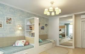amenager une chambre avec 2 lits aménagement chambre deux enfants 25 idées astucieuses étagère de