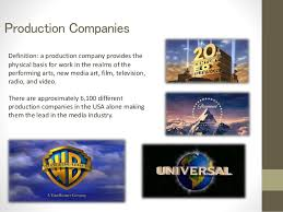 production companies production companies