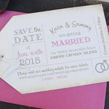 save the date luggage tags luggage tag save the date grand cayman serendipity