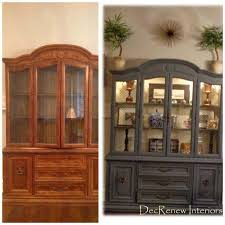 wow what a difference grandma u0027s china cabinet transformed