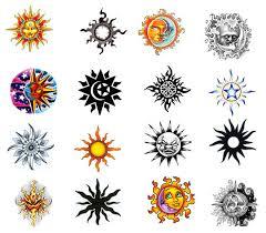 tattoos expert sun designs