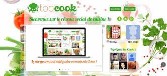reseau social cuisine pdj 28 novembre toocook premier réseau social de cuisine