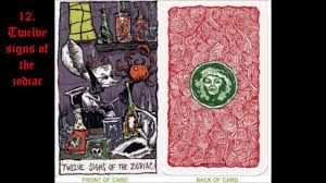the nightmare before tarot cards