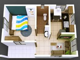 Free Small Home Floor Plans Blueprint Plan Small House Plans Free Download Blueprints Maker