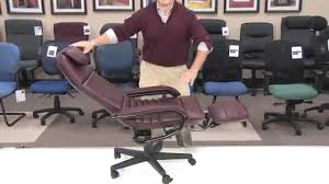 Leather Executive Desk Chair Offices A Luxury Reclining Office Chair Designs Recliner Computer
