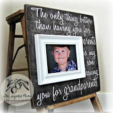 personalized grandparents picture frame mimi papa grandma