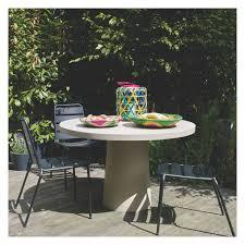 6 Seater Patio Furniture Set - tico 4 6 seat round garden table buy now at habitat uk garden