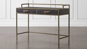 Crate And Barrel Office Desk Remi Writing Desk Crate And Barrel