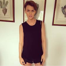 this is what ruby rose looks like without tattoos obsev