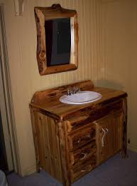 unique bathroom vanity lights rustic bathroom vanity lights brown varnished teak wood base