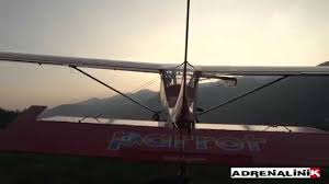 parrot ultralights aircraft adrenalinik youtube