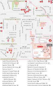 La Zoo Map Los Angeles Map Hollywood Attractions Virtual Explorer Map