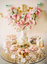 Pink And Gold Dessert Table by Dessert Table Bonanza Dessert Table Gold Dessert Table And Gold