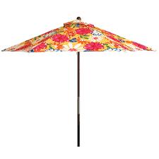 Floral Patio Umbrella Amazing Design Ideas Floral Patio Umbrella Rainwear Barn Patio