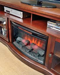 Infrared Electric Fireplace Walker Infrared Electric Fireplace Entertainment Center In Cherry